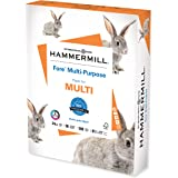 Hammermill Paper, Fore MP, 24lb, 8.5 x 11, Letter, 96 Bright, 500 Sheet / 1 Ream (103283), Made in The USA
