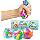 DNA Stress Balls - 3 Pack - Squeezing Stress Relief Ball - for Kids and Adults- Stress Squishy Toys for Autism, ADHD, Bad Hab