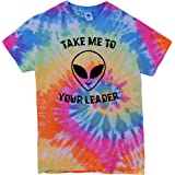 The Bold Banana Men's Take me to Your Leader Tie-Dyed T-Shirt