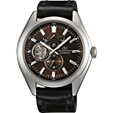 [オリエント時計] 腕時計 オリエントスター ソメスサドルモデル 機械式 自動巻(手巻付) WZ0111DK ブラック