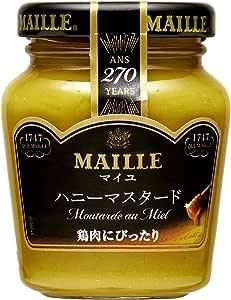 S&B MAILLE ハニーマスタード 120g