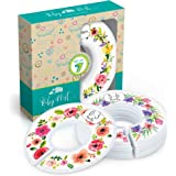 Baby Closet Dividers, Set of 7 Flower Bouquet Dividers Sized from Newborn to 24 Months