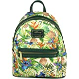 Loungefly Disney Lilo & Stitch Hawaiian Pineapple All Over Print Mini Backpack