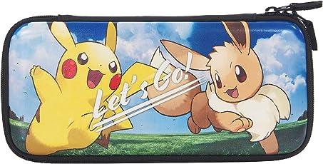 【任天堂ライセンス商品】ハードポーチ for Nintendo Switch Let's GO! ピカチュウ&Let's GO! イーブイ