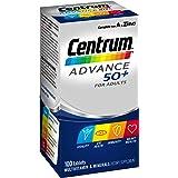 Centrum Multivitamins Advance 50+, 100 Count