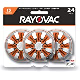 Rayovac Hearing Aid Batteries Size 13 for Advanced Hearing Aid Devices (24 Count)