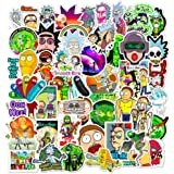 Rick and Morty Stickers - 50pcs