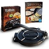 Tortillada – Premium Cast Iron Tortilla Press with Recipes E-Book (16cm)