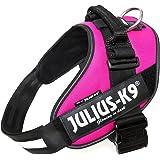 Julius-K9, 16IDC-DPN-2, IDC Powerharness, Dog Harness, Size: 2, Dark Pink