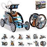 HOMOFY STEM Toys Solar Robot Kit 12-in-1 Educational Science Kits Toys|Learning Science Building Toys-Powered by Solar|STEM T