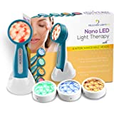 Lift Care Rejuven Light LED Light Therapy with 4 Interchangeable Heads Anti-Aging Device, Skin Rejuvenation, Lightens Dark Sp