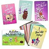 Baby Milestone Cards – 30 Unisex Baby Australian Designed Cards - 100% Unique Baby Shower or Newborn Gift - Australian Animal