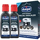 Durgol Swiss Espresso Descaler/Decalcifier for All Brands of Espresso (fully and semi-automatic) and Coffee Machines (pods, p