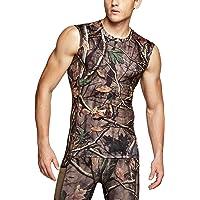 (テスラ)TESLA タンクトップ メンズ ラウンドネック ノースリーブ スポーツシャツ [UVカット・吸汗速乾] コン…