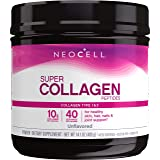 NeoCell Super Collagen Powder, 6,600mg Types 1 & 3 Grass-Fed Collagen, Paleo Friendly, Gluten Free, Soy Free, Unflavored - 14