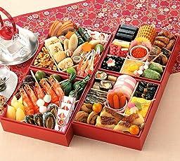 (12月30日着) 京菜味のむら おせち「雅」四段重 45品