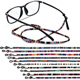 10 Pieces Glasses Strap, Eyewear Retainer Sunglass Straps, Eyeglass Holder Cord Lanyard Unisex Safety Glasses String, Eyewear