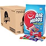 Airheads Mini Bars Variety Candy, Assorted Fruit, Individually Wrapped, Non Melting, Party (Pack of 4)