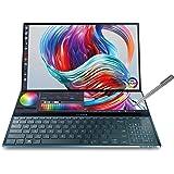 "ASUS ZenBook Pro Duo UX581 Laptop, 15.6"" 4K UHD NanoEdge Touch Display, Intel Core i7-10750H, 16GB RAM, 1TB PCIe SSD, GeForce"