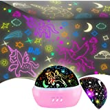Night Light for Kids,Unicorn Night Light⋆ Projector Gifts for Kids Toddlers, Toys for 3-8 Years Old Girls,Baby Nursery Night