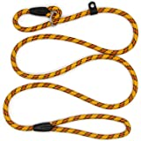 Anti-Pull Lead Leash, Durable Training Dog Slip Leash, Adjustable Traction Rope for Dogs Nylon Braided Rope 150 cm x 10 mm