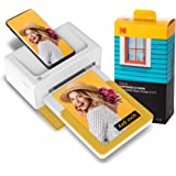 KODAK Dock Plus Instant Photo Printer Bluetooth Portable Photo Printer Full Color Printing Mobile App Compatible with iOS and