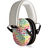 Muted Designer Hearing Protection for Infants & Kids - Adjustable Children's Ear Muffs from Toddler to Teen