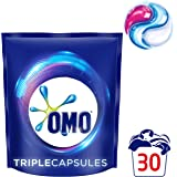 Omo Laundry Liquid Triple Capsules Front & Top Loader Active 30 Pack