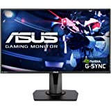 "Asus VG278QR 27"" Gaming Monitor, 1080P Full HD, 165Hz (Supports 144Hz), G-SYNC Compatible, 0.5ms, Extreme Low Motion Blur, Ey"