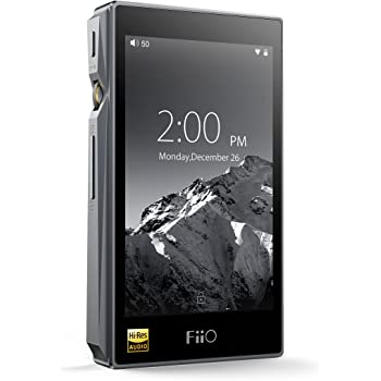 フィーオ ハイレゾ・デジタルオーディオプレーヤー(チタニウム)32GBメモリ内蔵+外部メモリ対応FiiO X5 3rd generation FIIO-X5 3RD GENERATION TITAN