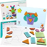 ButterflyFields Magnetic Shapes Puzzles Toys for Kids 2 Years Above Boys & Girls - 23 Pieces  Educational Fun Festival  Unlim