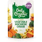 Only Organic Vegetable Macaroni Cheese Kindy 1-5 Years - 220g