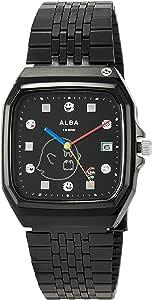 [セイコーウォッチ] 腕時計 アルバ ALBA(アルバ) マリオワールド コラボレーション スーパーファミコンマリオデザイン ACCK426 メンズ ブラック