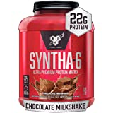 BSN Syntha 6 Chocolate Protein Blend Best Tasting Protein Powder, 2.27 Kilograms