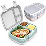 Bentgo Fresh 3-Pack Meal Prep Lunch Box Set - Reusable 3-Compartment Containers for Meal Prepping, Healthy Eating On-the-Go,