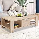 Artiss Wooden Coffee Table, Oak