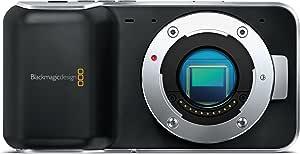 Blackmagic Design シネマカメラ Blackmagic Pocket Cinema Camera マイクロフォーサーズマウント フルHD対応 3.5インチ 001938