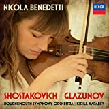 Shostakovich Violin Concerto No.1 Glazunov Violin Concerto