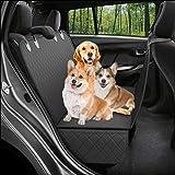 T.D.Well 2020年 最新 ペット用ドライブシート カーシートカバー トランクシート ドライブボックス 後部座席…
