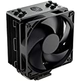 Cooler Master Hyper 212 Black Edition CPU Air Cooler w/Silencio FP120 120mm Fan, 4 Continuous Direct Contact 2.0 Heatpipes, A