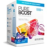 Pureboost Clean Energy Drink Mix + Immune System Support. Sugar-Free Energy with B12, Multivitamins, Antioxidants, Electrolyt