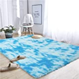 Noahas Abstract Shaggy Rug for Bedroom Ultra Soft Fluffy Carpets for Kids Nursery Teens Room Girls Boys Thick Accent Rugs Hom