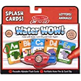 Melissa & Doug On the Go Water Wow! Splash Cards - Alphabet and Animals