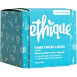Ethique Eco-Friendly Shampoo & Conditioner Bar Bundle for Dry Hair - Sustainable & Natural Bars, 100% Soap Free, pH Balanced,