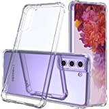 Proxima Direct Clear Case Cover for Samsung Galaxy S21 Plus 5G(6.7 inch), Air Hybrid Slim Fit Shockproof Crystal TPU Bumper P
