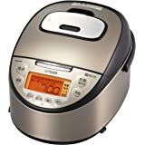 タイガー魔法瓶(TIGER) 炊飯器 同時調理 炊飯方式IH 5.5合 パールブラウン JKT-J101-TP