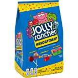 JOLLY RANCHER Lollipops, Hard Candy and Stix Assorted Fruit Flavored Candy, Bulk, 46 oz Bag