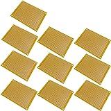 EasyWordMall 10個 PCB 5×7cm ユニバーサル基板 実験プレート