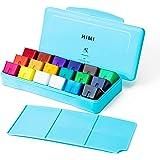 HIMI Gouache Paint Set 18 Colors (30ml/Pc) Paint Set Unique Jelly Cup Design Non Toxic Paints for Artist, Hobby Painters & Ki