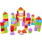 Hape HAP-E8247 Wonderful Blocks Game, 101 Pieces, Multicolor